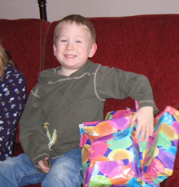 Alexander and his presents.